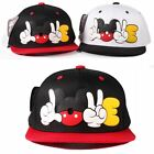 KIDS hats high quality boys cap Micky Love Snapback caps Disney children hat