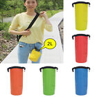 2L 30L Outdoor 500D PVC Waterproof Dry Sack Swimming Bag W Strap for Rafting