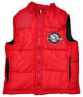 Boys Toddler Padded Gilet Zipper Bodywarmer Red 2-3 Years SALE