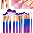 New 15Pcs Superior Soft Makeup Brushes Foundation Cosmetic Make Up Brush Set