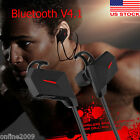 SPORT Bluetooth V4.1 Wireless Handfree Headset Stereo Headphone Earphone w' Mic
