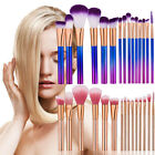 15Pcs Professional Foundation Makeup Brushes Set Cosmetic Kabuki Makeup Tools