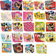 20 PARTY NAPKINS - Range of LICENSED CHARACTER DESIGNS (Birthday Supplies)(SetE)
