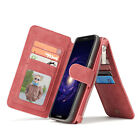 New Leather 2-in-1 CaseMe Wallet Style Phone Cover for Samsung S8/S8 Plus