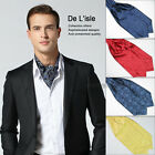 Fashion Men British Retro Cravat Gentlemen Party Business Neckline Towel Ties