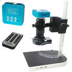 16MP 1080P 60FPS HDMI USB Industrial Microscope Camera+ 100X ZOOM C-mount Lens
