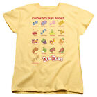 Dum Dums Flavors Womens Short Sleeve Shirt