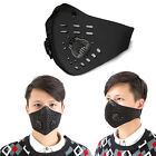 activated carbon face mask - Women Men Activated Carbon Filter Anti Dust Mask Reusable Mesh Half Face Cover