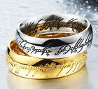 1x Charm Men Ring Jewelry Carving Titanium Stainless Steel Rings Size 5-14 New