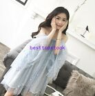 Fairy Sexy Womens Summer Off Shoulder Mesh Sweet One Size Dress Grace Fashion