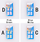 2 x TV Remote Control Organizer Storage Holder Wall Sticky Hook Easy To Hang NEW