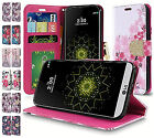 For LG K20 Plus K20 V LG Harmony Premium Design PU Leather Wallet Cover Case