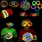 Kyпить 10/50/100Pcs Magic Glow Sticks Bracelets Necklaces Fluorescent Neon Party Supply на еВаy.соm