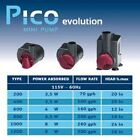 Hydor Pico Evolution Centrifical All-Purpose Pump for Aquariums Terrariums Water