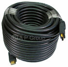 LONG HDMI CABLE HD TV ACTIVE BOOST LEADS 20m 25m 30m 40m 50m GOLD + ETHERNET