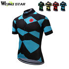 Weimostar Summer Short Sleeve Bike Cycling Jersey mtb Bicycle Cycling Clothing