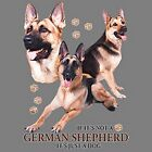 If Not German Shepherd Just a Dog Sweatshirt Pick Size Small to 5 X Large