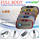 2017 Ultrathin Fit Vibration Platform Plate Massage Machine Fitness Bluetooth