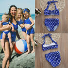 Adorable Baby Girl 2pcs Polka Dot Bikini Swimwear Swimsuit Bathing Suit Beach