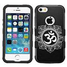 Hamsa Om Hybrid Armor Case for iPhone SE/6/S/7/Plus/Galaxy S8/Plus