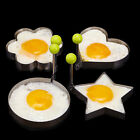 4PCS Fried Egg Shaper Stainless Steel Mold Cooking Kitchen Tools