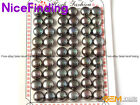 27 Pairs Flat Back Pearl Half Drilled Beads For Earring Ring Jewelry Making 10mm