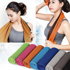 Ice Cold Enduring Running Work Out Gym Chilly Pad Instant Cooling Towel SportsJR