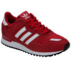 Men's adidas Originals Zx 750 Trainers In Red From Get The Label