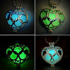 Lovely Hollow Glow In Dark Love Heart Pendant Necklace Jewelry RT US