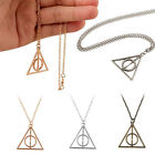 Harry Potter The Deathly Hallows Charm Talisman Pendant Necklace Chain New