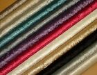 """""""Diamond"""" Crushed Velvet  Fabric -  Ideal For Curtain Upholstery Cushions Blinds"""