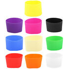 Silicone Heat Resistant Nonslip Glass Bottle Mug Cup Sleeve Protector Cover
