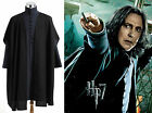 Harry Potter Deathly Hallows Severus Snape Black  Uniform Costume Cosplay