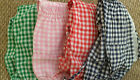 NEW GIRLS CHECK GINGHAM JUMPSUIT RED PINK GREEN BLUE AGES 0 - 1, 1-2, 2-3 YEARS
