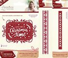 Sara Davies Signature Collection Scandinavian Christmas Dies, Stamps or Folders
