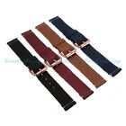 20mm NEW Quality Unisex Soft Vintage Genuine Leather Watch Strap Band Women Mens