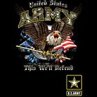 US Army Since We Will Defend  Size 2 X Large-11/12 X Large Mens Tank Top