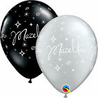 15.2x27.9cm MAZEL TOV ELEGANTE SCINTILLE Palloncini In Lattice Qualatex Festa/
