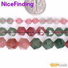 """Natural Multi Color Cherry Quartz Crystal Stone Beads For Jewelry Making 15"""" DIY"""