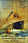 Poster, Many Sizes; White Star Line Showing The Titanic