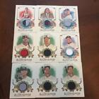 2017 Topps Allen and & Ginter Full Size Relics Pick CHOICE from List by YFTS