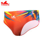 YINGFA Mens Professional Briefs Racing Training Swimwear 9602 9605