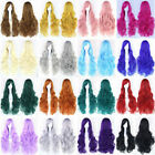 Fashion Lady Cosplay Anime Long Curly Wavy Hair Party Cosplay Full Wig New