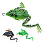 Soft Frog Lure 5cm 10g Snakehead Bait Topwater Simulation Fishing Lures