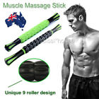 Trigger Point Self Massage Roller Stick Therapy Body Muscle Relief Travel Tool