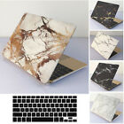 """Rubberized Marble Painting Hard Case+KB For Macbook Pro Air 11 13""""15"""" Retina 12"""""""