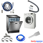 Water Fill & Drain Hose Kits & spare parts for Washing Machines & Dishwashers