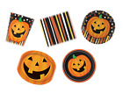 SMILING PUMPKIN HALLOWEEN Party Tableware (Cups/Plates/Napkins) {Unique}