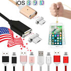 1m 2m 3m Magnetic Adapter Charger Usb Charging Ios Cable For Iphone 7 6 Plus 5