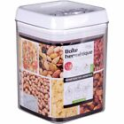 Small-Large VACUUM FOOD BOX Air Tight Dry Fruit Pasta Cereal Container Storage